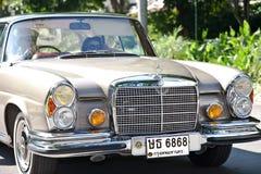 Mercedes-Benz SE Coupe on Vintage Car Parade Stock Photos