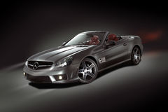 Mercedes-Benz SL μετατρέψιμη Στοκ εικόνα με δικαίωμα ελεύθερης χρήσης