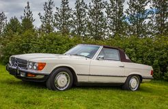 Mercedes Benz 1973 450SL Images stock