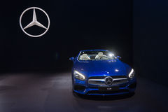 Mercedes-Benz SL550 Στοκ Εικόνες
