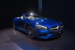 Mercedes-Benz SL550 Στοκ εικόνα με δικαίωμα ελεύθερης χρήσης