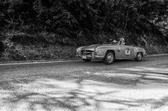 MERCEDES-BENZ 190 SL 1956 Royaltyfria Bilder