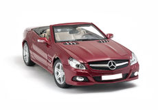 Mercedes-Benz SL 550 cabriolet car Royalty Free Stock Photos