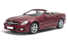 Mercedes-Benz SL 550 cabriolet Stock Images
