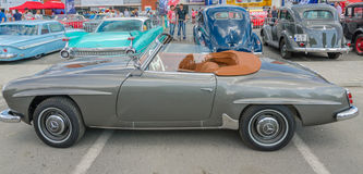 Mercedes Benz 190 SL Royalty Free Stock Images