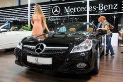 Mercedes-Benz SL-class Stock Photo