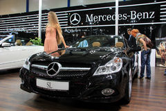 Mercedes-Benz SL-class Royalty Free Stock Images