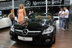 Mercedes-Benz SL-class (SL 500) Royalty Free Stock Photo