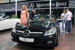 Mercedes-Benz SL-class (SL 500) Royalty Free Stock Photos