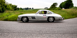 MERCEDES BENZ 300 SL Coupé W 198 1955 Stock Foto