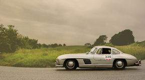 MERCEDES BENZ 300 SL Coupé W 198 1955 Stockbilder