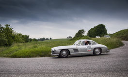 MERCEDES-BENZ 300 SL Coupé W 198 1955 Royalty-vrije Stock Fotografie