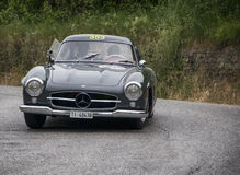 MERCEDES-BENZ 300 SL Coupé W 198 1955 Stockbilder