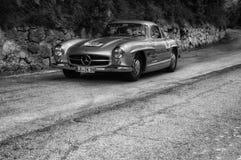 MERCEDES-BENZ 300 SL COUPÃ ‰ W 198 1955 Royaltyfri Foto