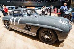 Mercedes-Benz 300 SL Fitch Mille Miglia 417, Salon de l'Automobile Geneve 2015 Images stock
