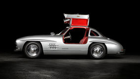 1957 Mercedes-Benz 300SL Gullwing Stock Photo