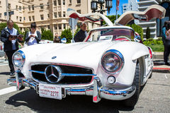 Mercedes Benz 1956 300SL Gullwing Arkivbild