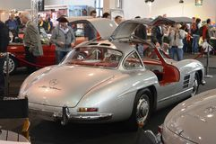 Mercedes Benz 300 SL Gullwing 1954 Fotos de Stock