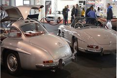 Mercedes Benz 300 SL Gullwing 1954 Photo libre de droits