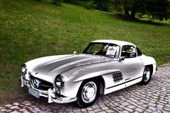 Mercedes Benz 300SL Gullwing - 1956 Stock Photography