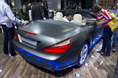 Mercedes-Benz SL350 Luxury Sport coupe Royalty Free Stock Images
