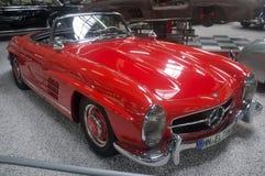 Mercedes-Benz 300 SL - musée Sinsheim image stock