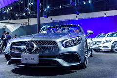The Mercedes Benz SL 400 Royalty Free Stock Images