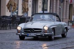 Mercedes-Benz 190 SL oldtimer samochód Obraz Royalty Free