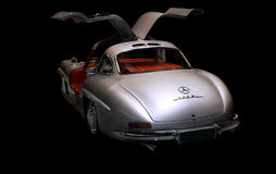Mercedes Benz 300 SL 1955 Sport car Royalty Free Stock Images