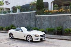 Mercedes-Benz SL 400 2014 Test Drive Royalty Free Stock Photos