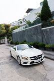 Mercedes-Benz SL 400 2014 Test Drive Stock Images