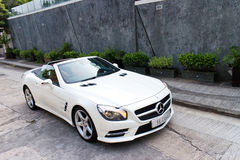 Mercedes-Benz SL 400 2014 Test Drive Royalty Free Stock Photography