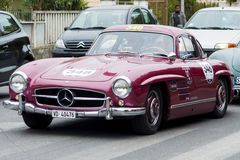 Mercedes-Benz 300 SL W 198 1955 Stockbilder
