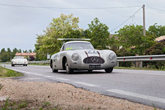 Mercedes Benz 300 SL W194 in rally Mille Miglia 20 Stock Image