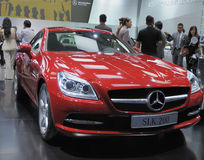 Mercedes benz  SLK 200 Stock Photography