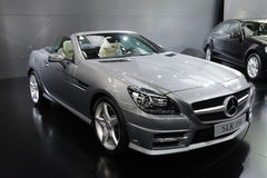 Mercedes benz  slk 350 Royalty Free Stock Photography