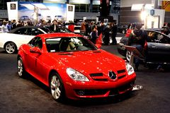 Mercedes Benz SLK 350 Royaltyfri Bild