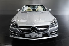 Mercedes benz  slk 350 front Stock Images