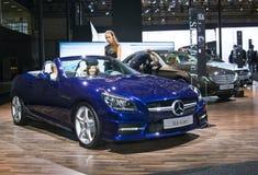 Mercedes-Benz SLK 250 Zdjęcia Stock