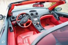 Mercedes Benz SLK 55, AMG-offener Tourenwagen, Cabrio Lizenzfreie Stockfotografie