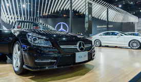 Mercedes-Benz SLK 200 Royalty Free Stock Photography
