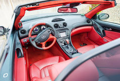 Mercedes Benz SLK 55, barata de AMG, Cabrio Fotografia de Stock Royalty Free