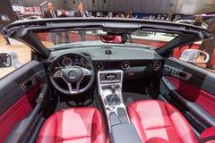 Mercedes-Benz SLK 200 bil Arkivbild
