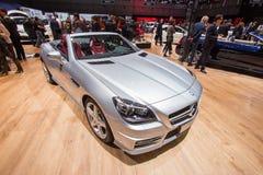 Mercedes-Benz SLK 200 CarbonLOOK upplagafiber Royaltyfri Bild