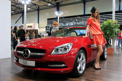 Mercedes-Benz SLK-class Royalty Free Stock Photography