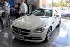 Mercedes-Benz SLK-class Royalty Free Stock Image