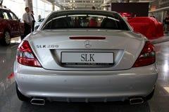 Mercedes-Benz SLK-class (SLK 200) Royalty Free Stock Images