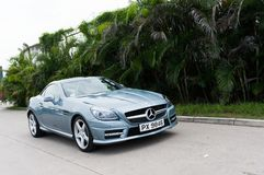 Mercedes-Benz SLK Convertible Stock Photo