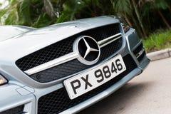 Mercedes-Benz SLK Convertible Stock Photography