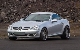 MERCEDES BENZ - SLK Royalty Free Stock Photo